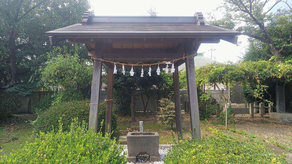 若宮八幡神社の手水