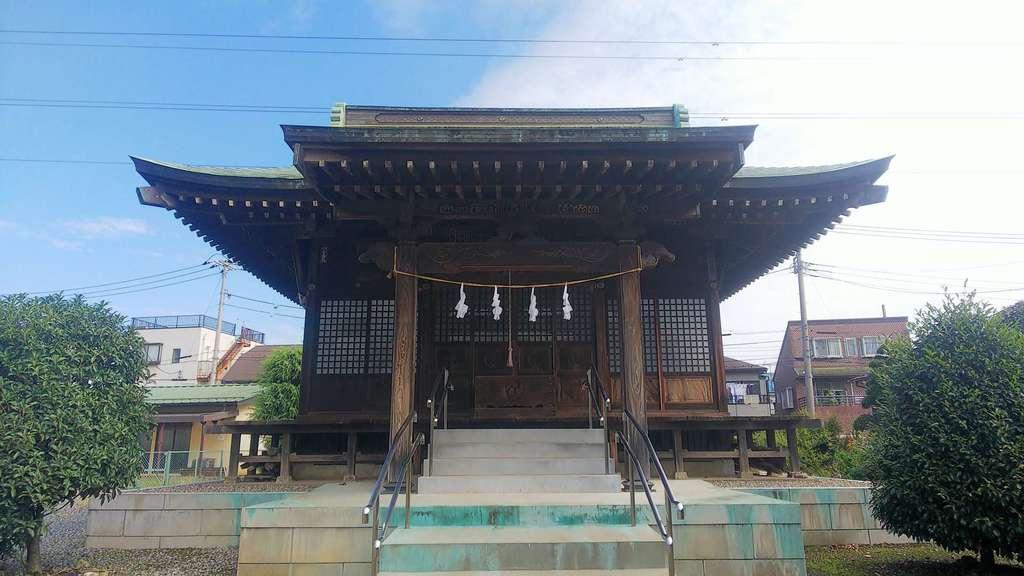 若宮八幡神社の本殿