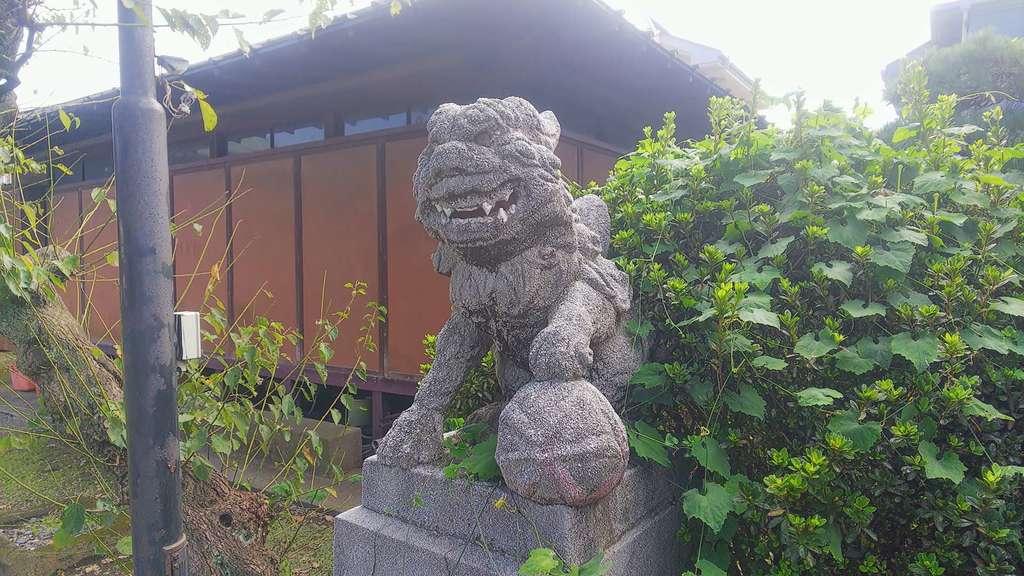 若宮八幡神社の狛犬