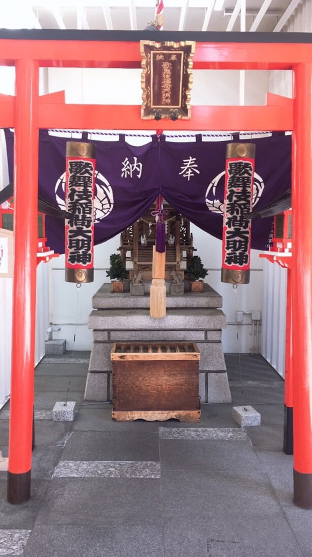 歌舞伎稲荷神社の鳥居
