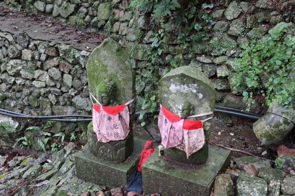 青龍寺の像