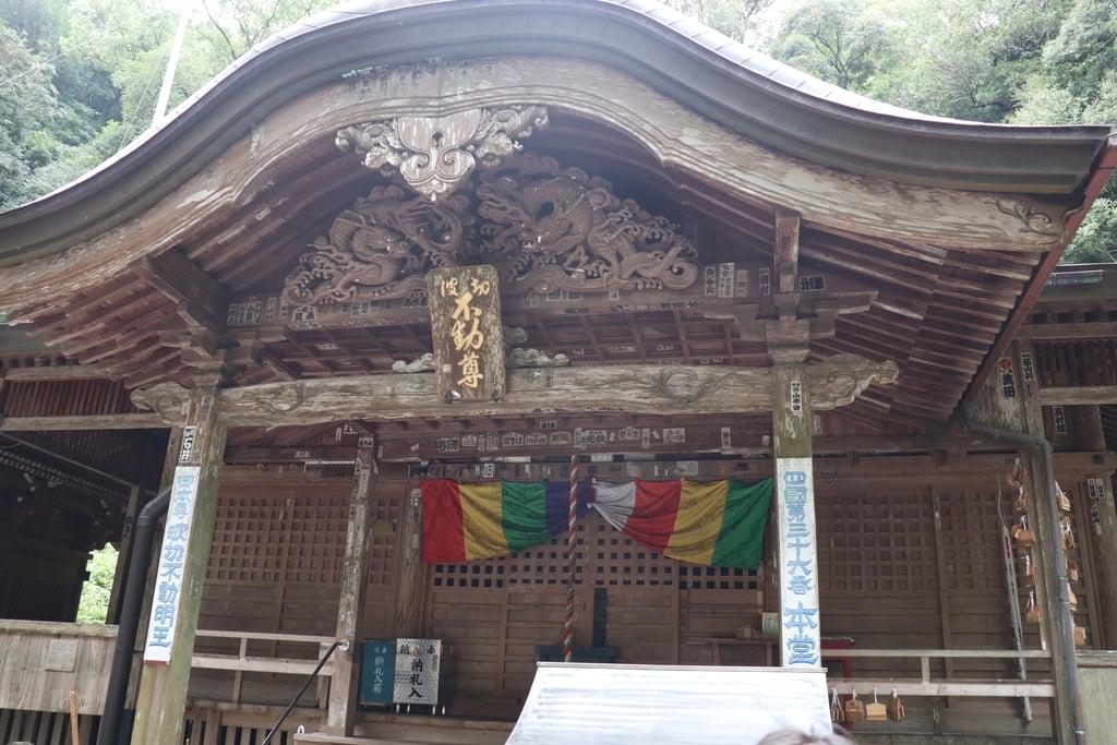青龍寺の本殿