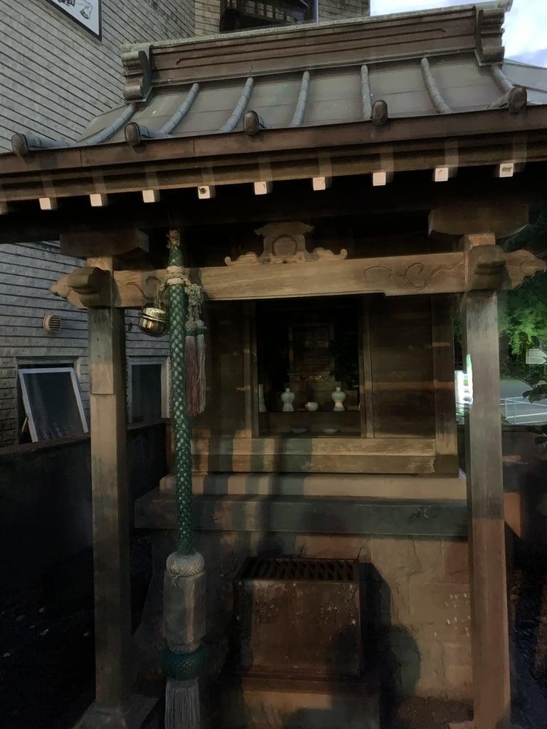 御嶽神社の本殿
