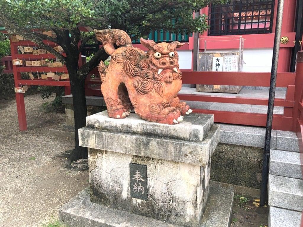 波上宮の狛犬