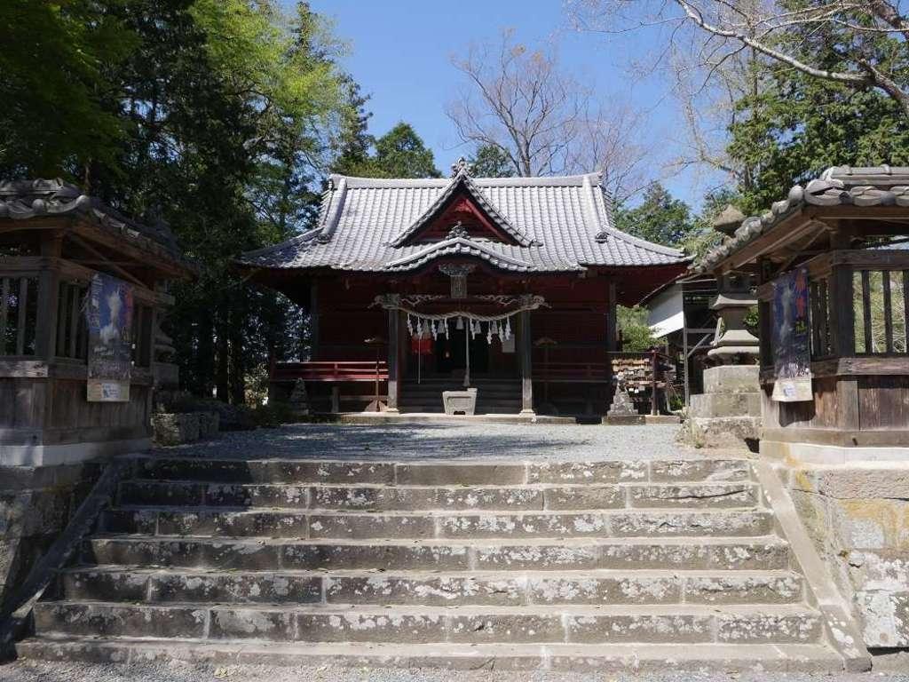 椋神社の本殿