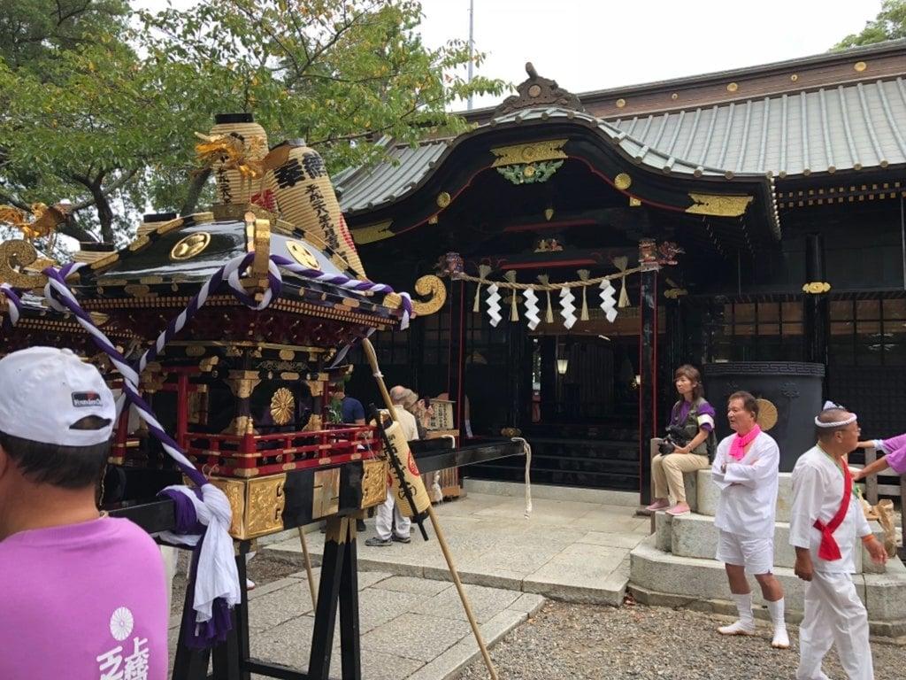 玉前神社のお祭り