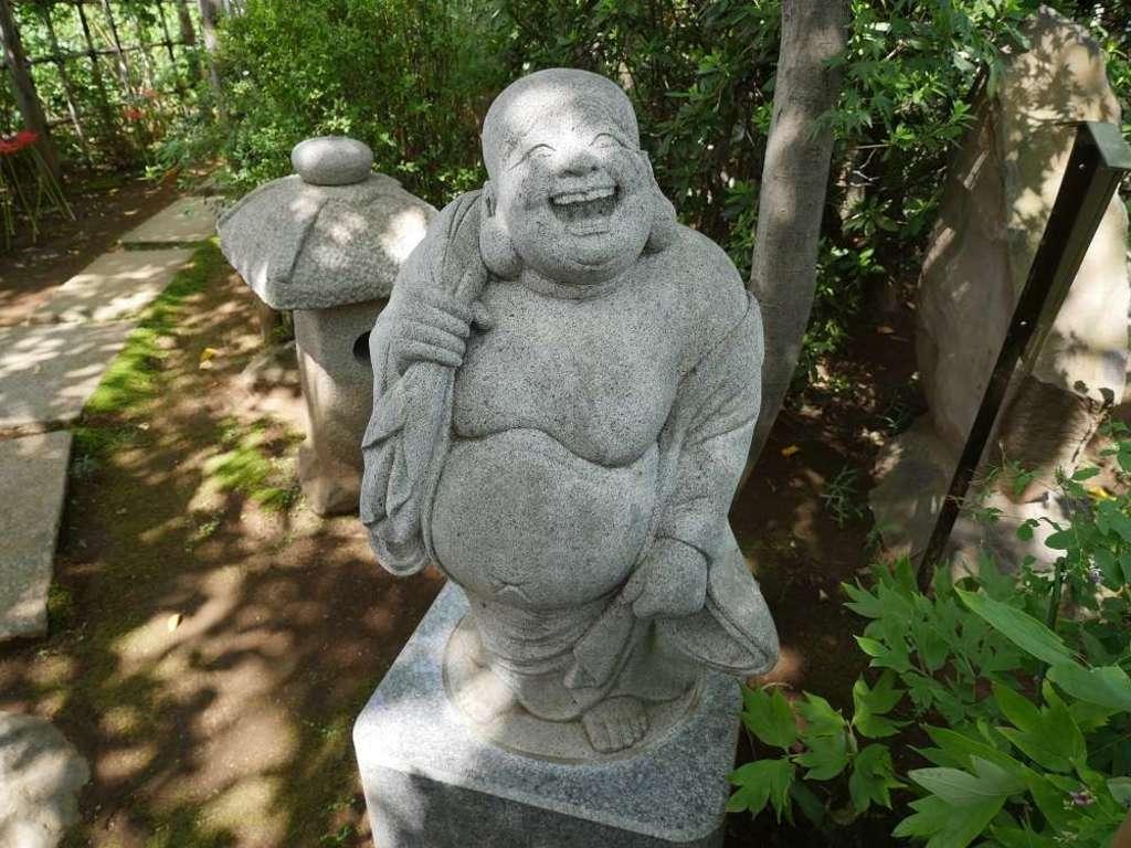 竜眼寺(萩寺)の像