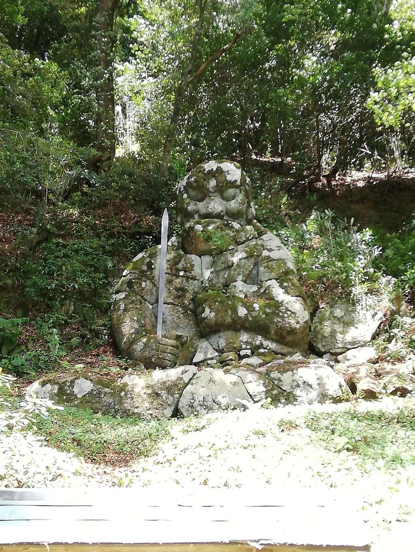 華蔵寺の像