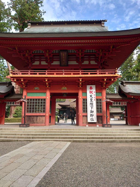 香取神宮の山門