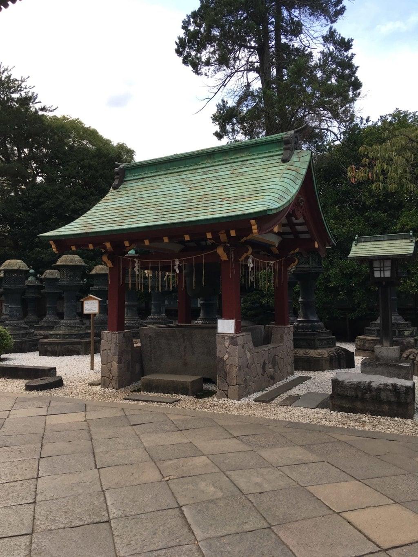 上野東照宮の手水