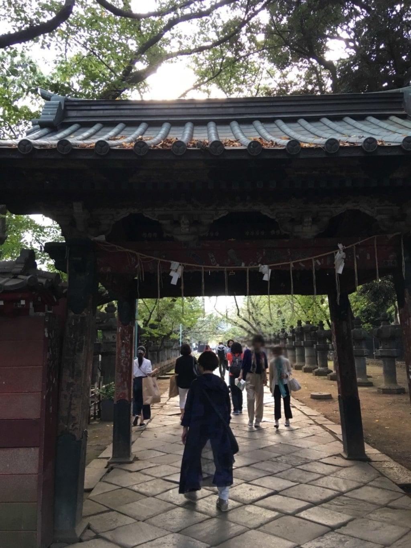 上野東照宮の山門