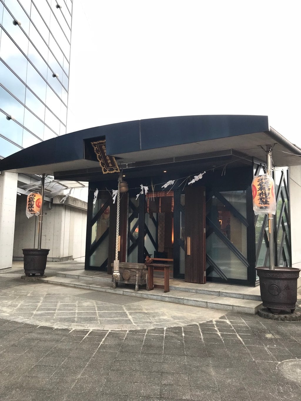 北谷稲荷神社の本殿