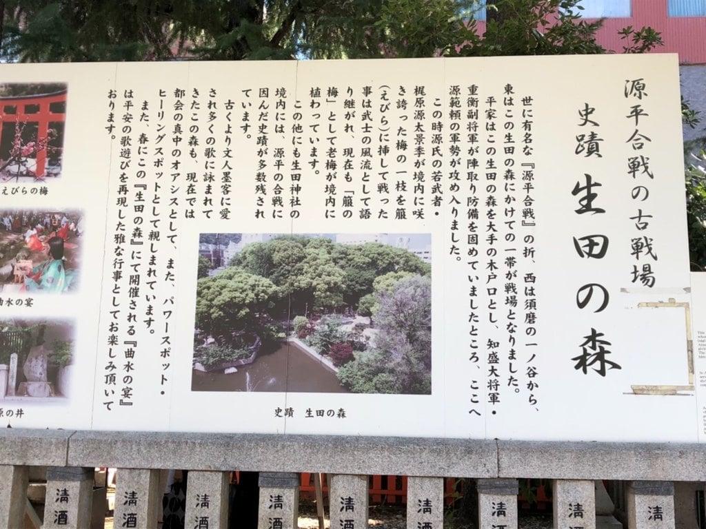 生田神社の歴史