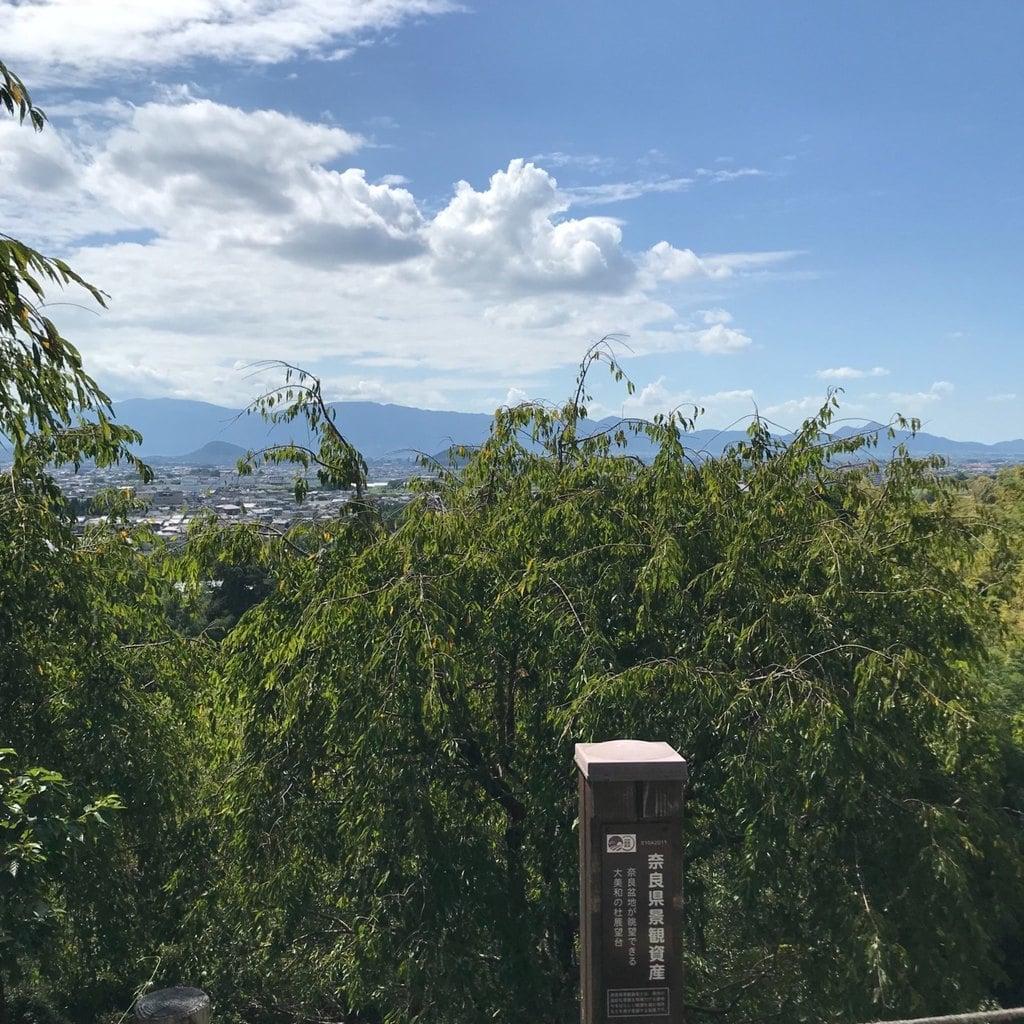 久延彦神社の景色