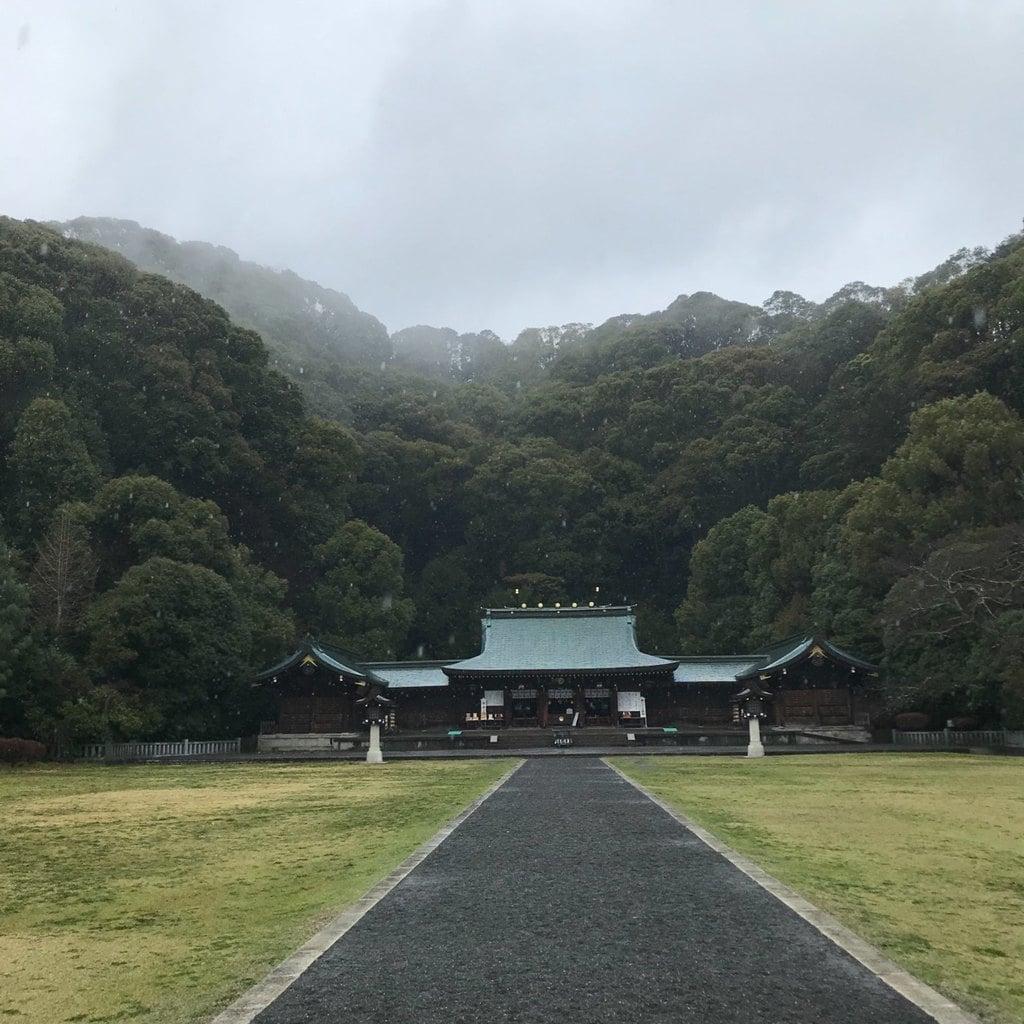 静岡県護国神社の本殿