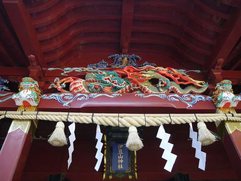 伊豆山神社の芸術