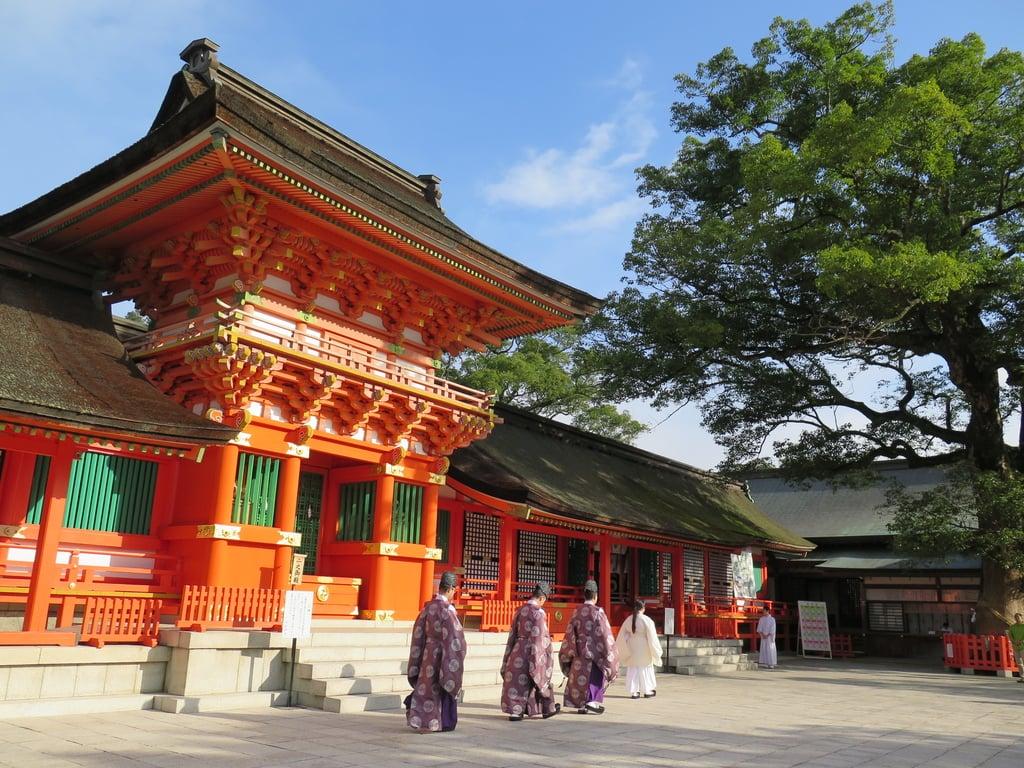 宇佐神宮の本殿