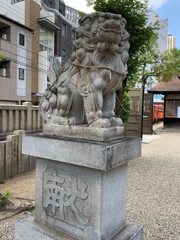 今宮戎神社の狛犬