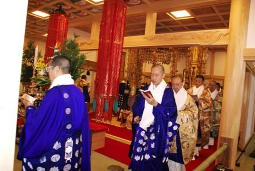 法話と天井絵の寺 觀音寺のお祭り
