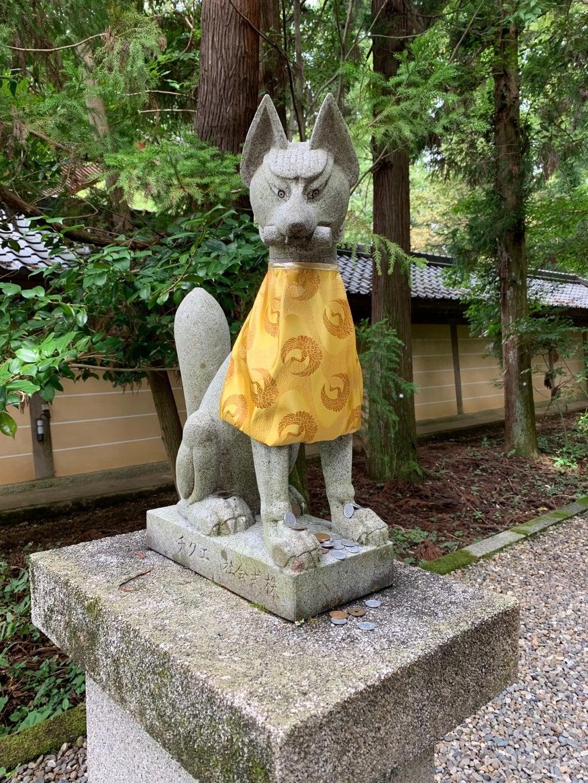 多賀大社の狛犬