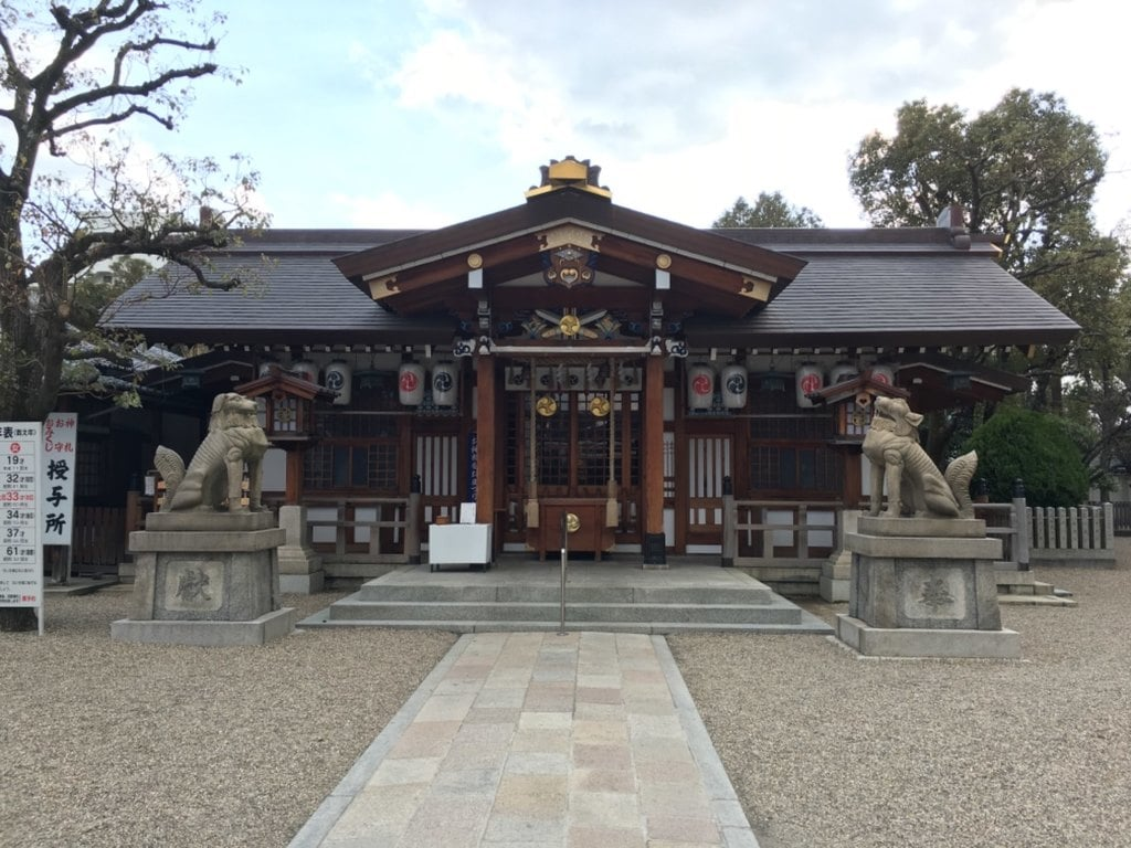 三社神社の本殿
