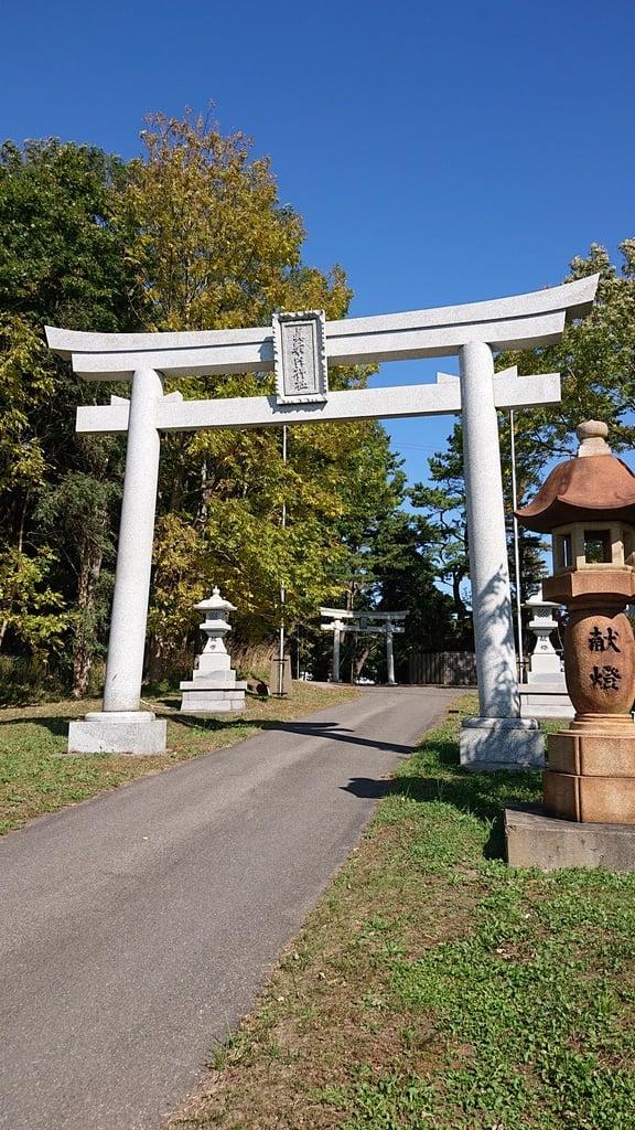 真駒内神社の鳥居