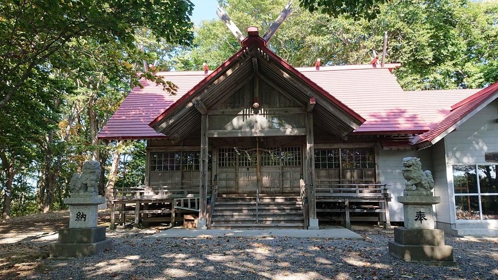 真駒内神社の本殿