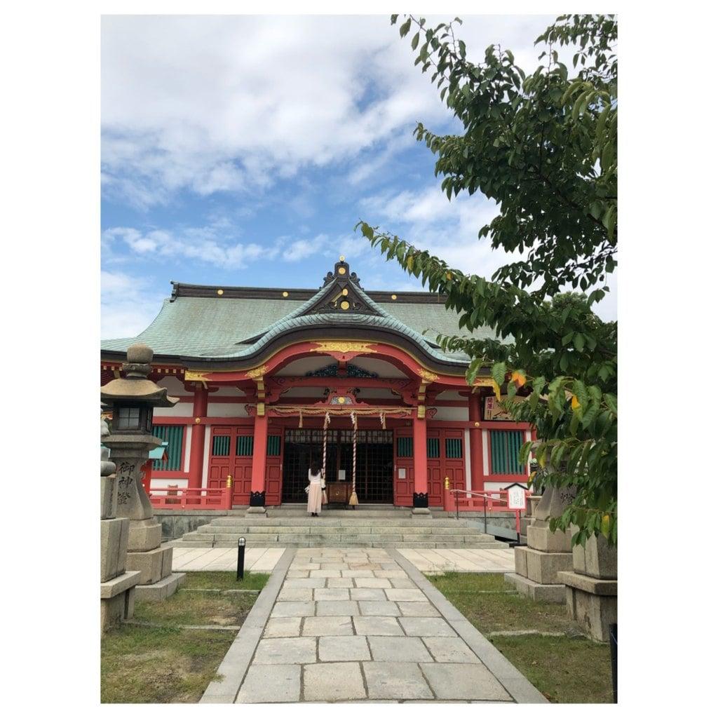 土佐稲荷神社の本殿
