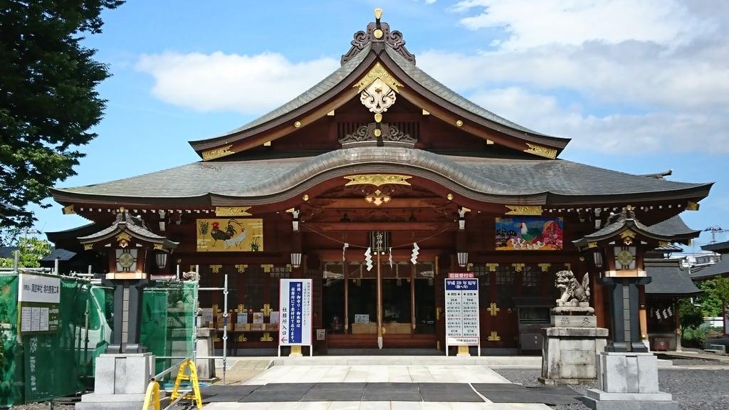 諏訪神社(福禄寿稲荷神社)の本殿