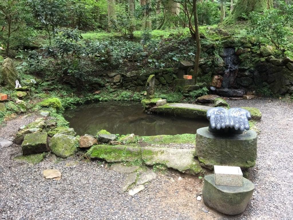 御岩神社の庭園