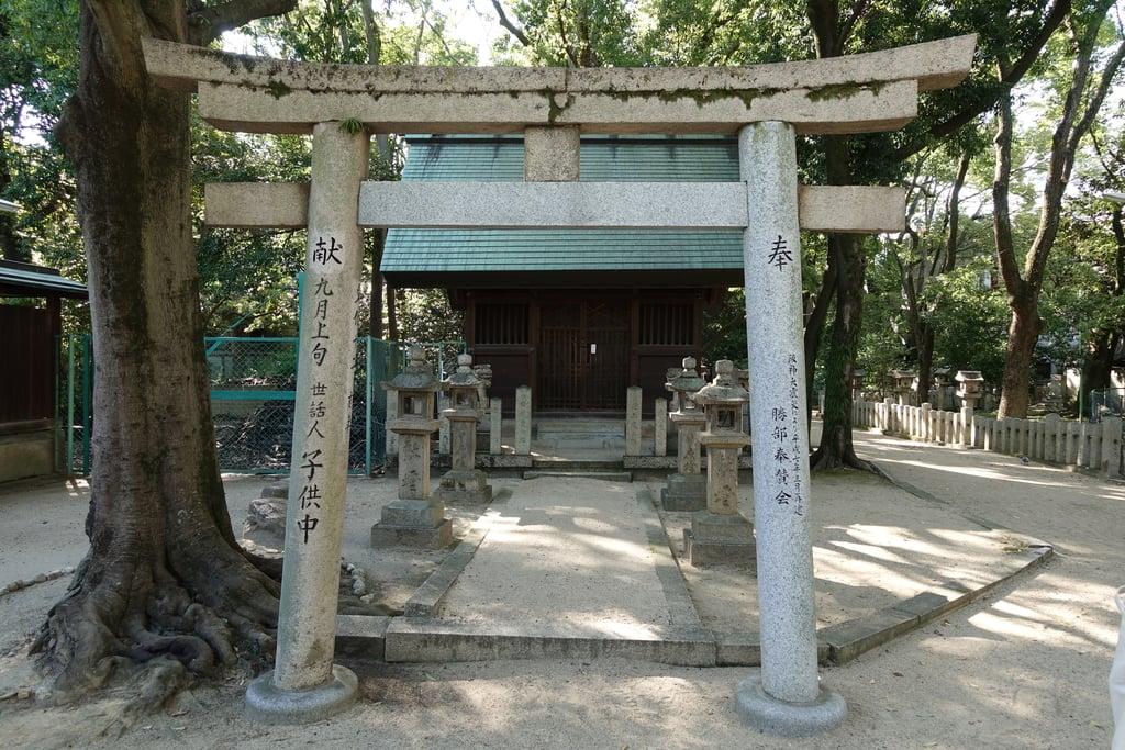 原田神社の鳥居