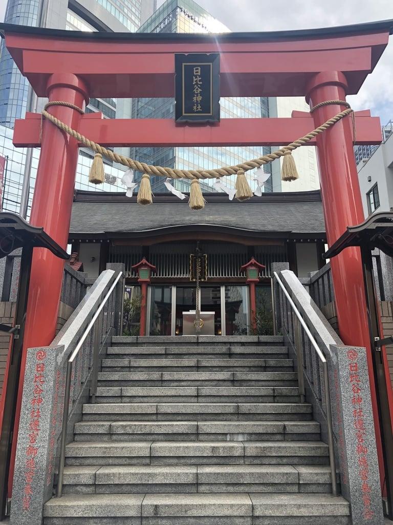 日比谷神社の鳥居