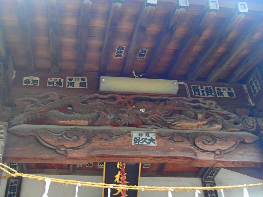 日吉神社の芸術