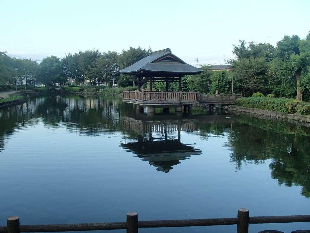 日吉神社の周辺