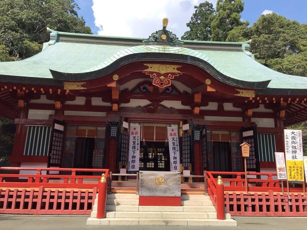 静岡浅間神社の本殿