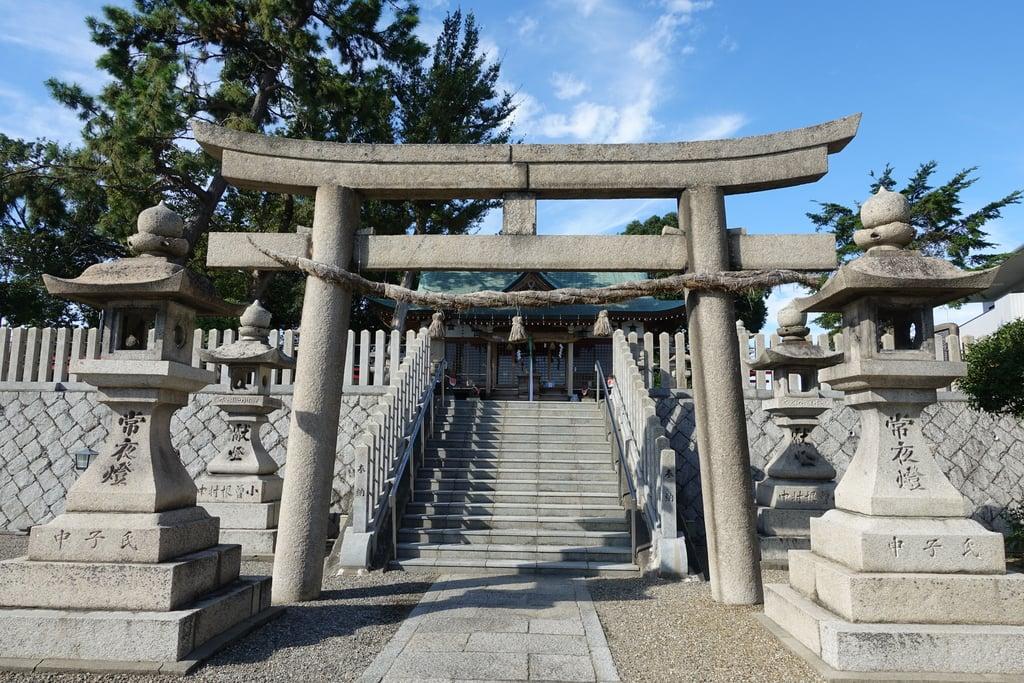 若宮住吉神社の鳥居