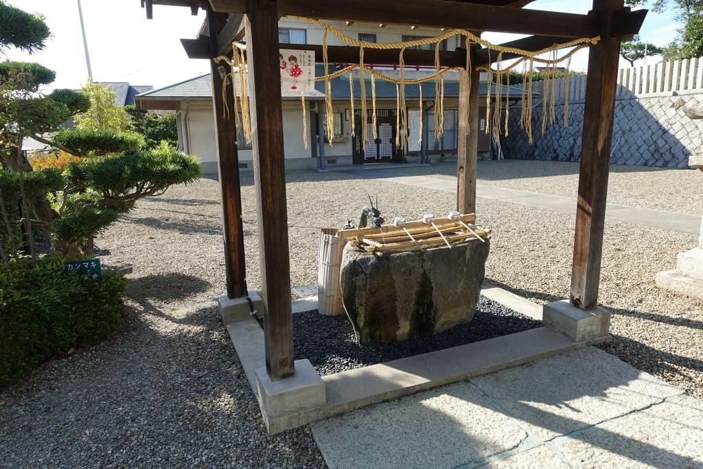 若宮住吉神社の手水
