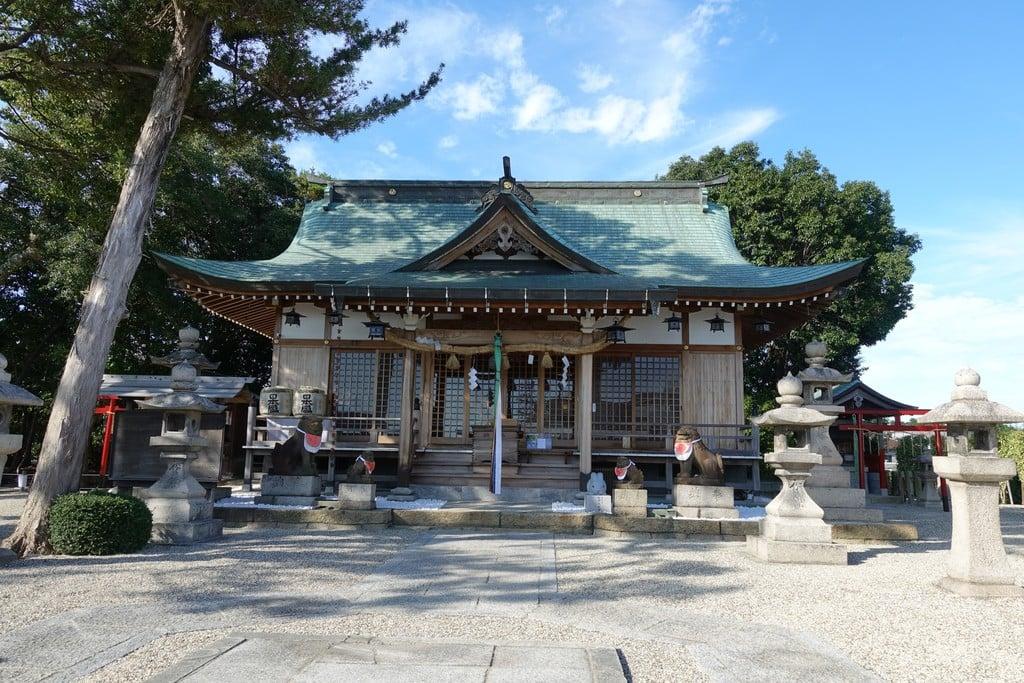 若宮住吉神社の本殿