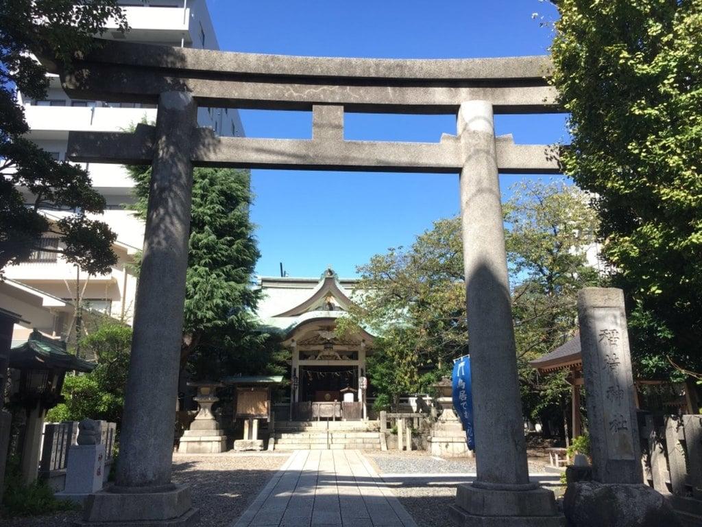 猿江神社の鳥居
