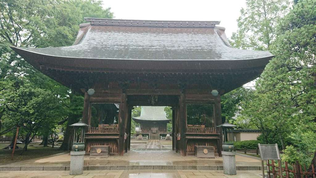 圓融寺の山門