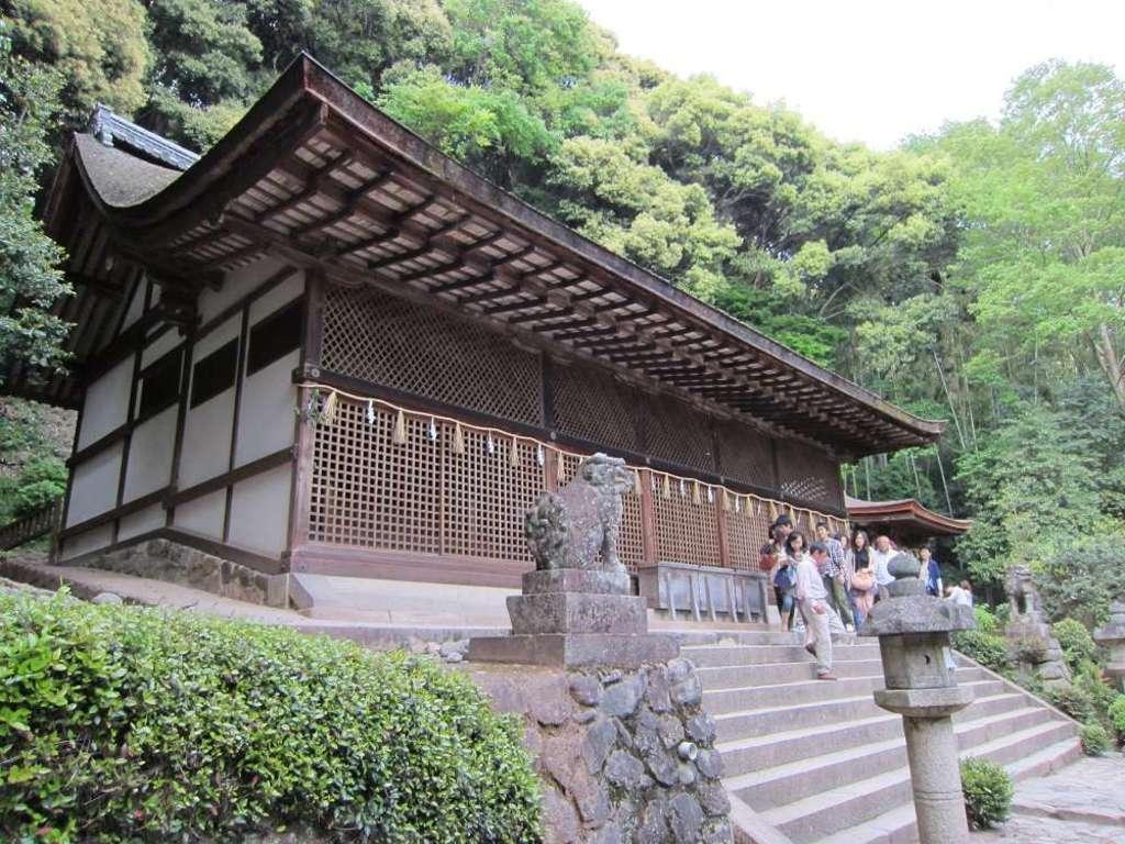 宇治上神社の本殿