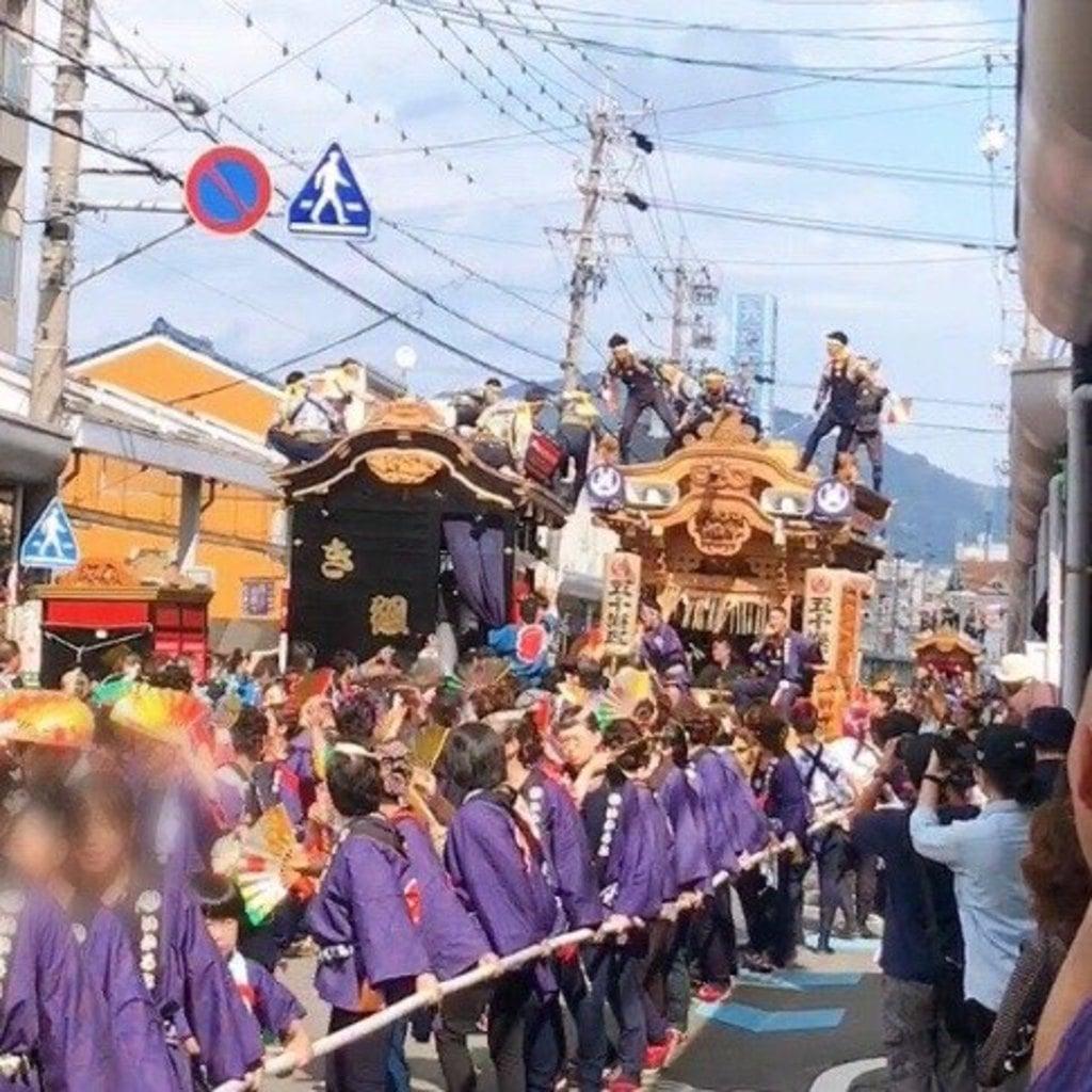 飽波神社のお祭り
