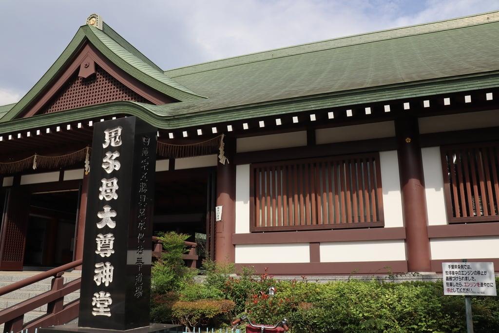 法華経寺の本殿