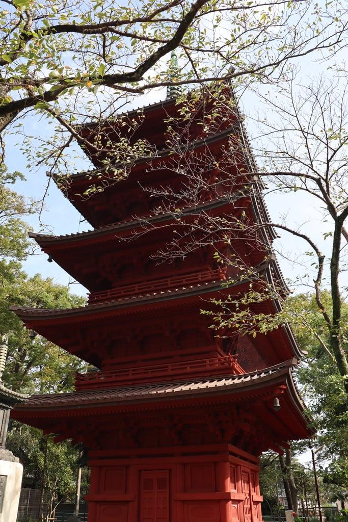 法華経寺の塔