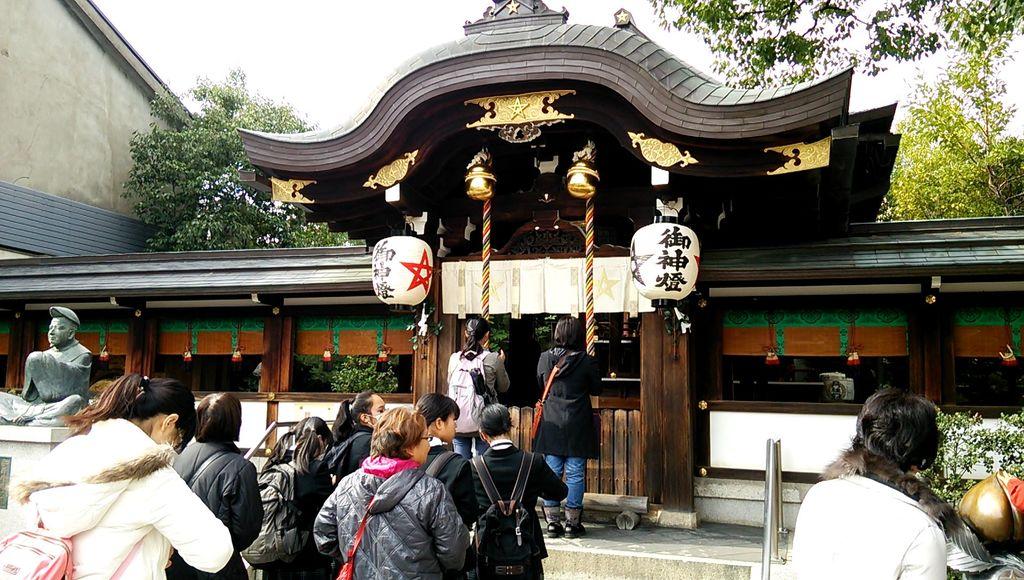 晴明神社の本殿