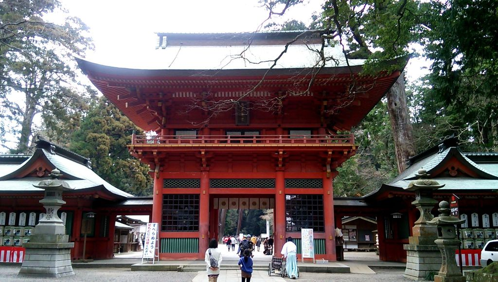 鹿島神宮の山門