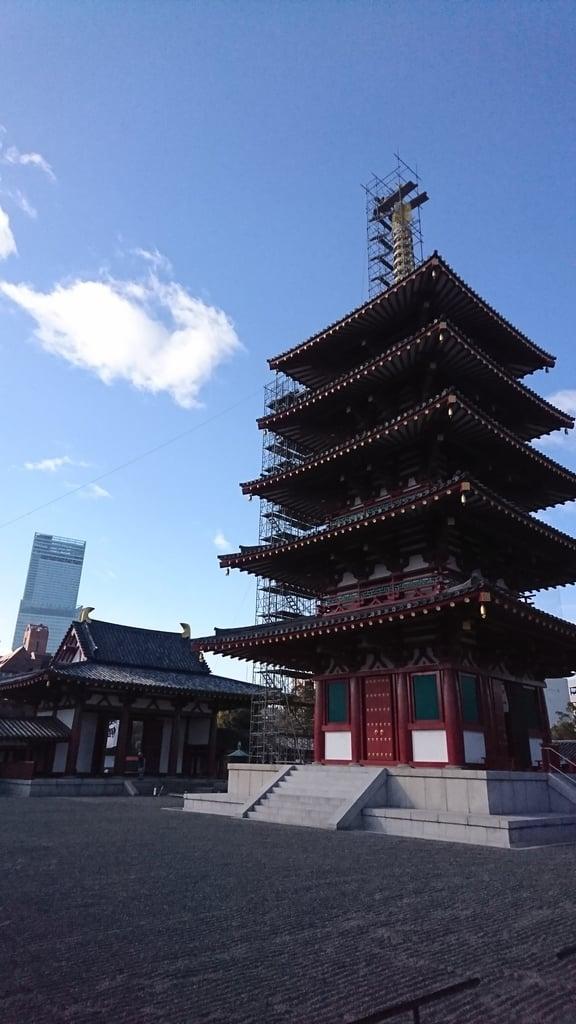 四天王寺の塔