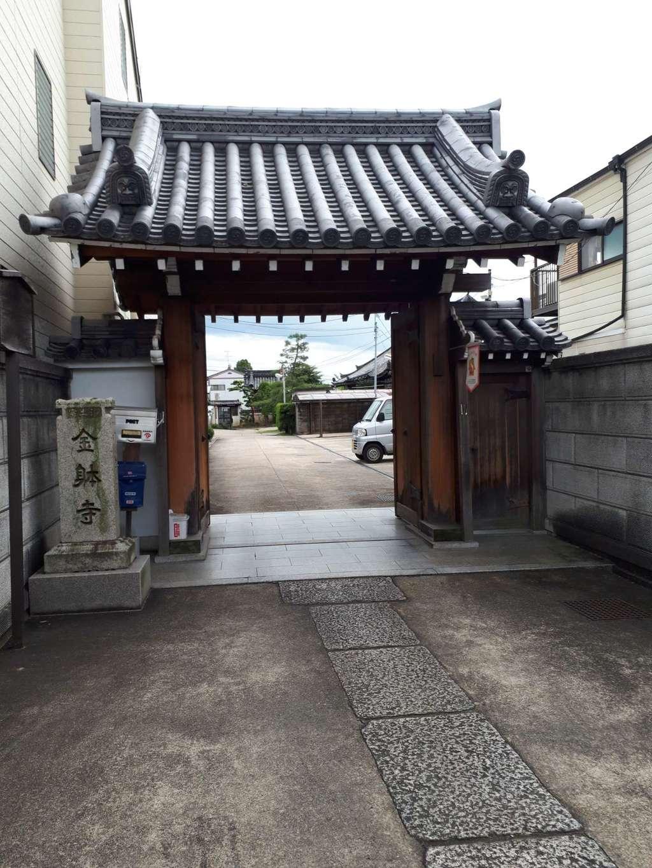 金躰寺の山門