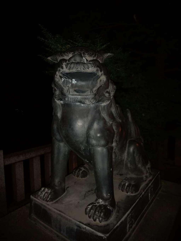 三吉神社の狛犬