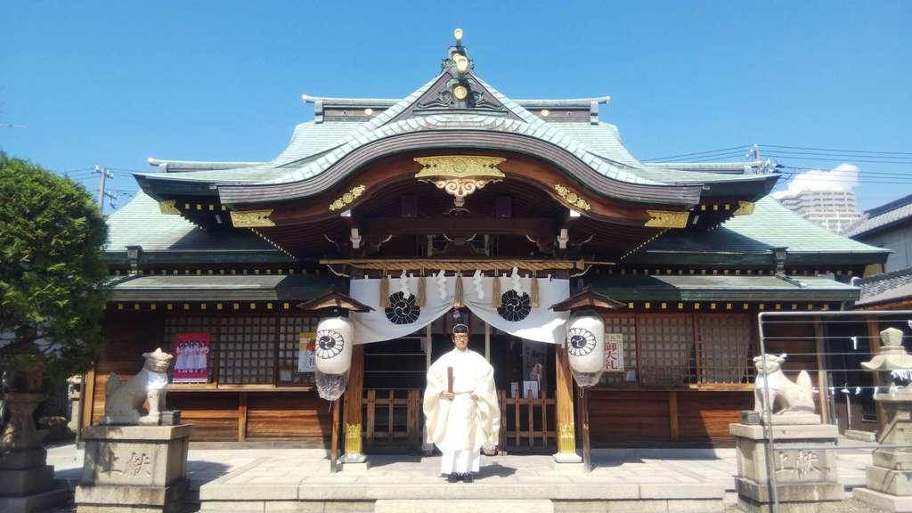 厄除の宮 駒林神社の本殿
